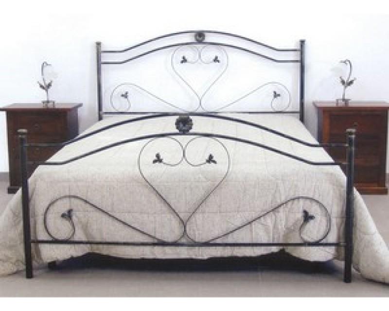Letto in ferro battuto elegant camera da letto di design with letto in ferro battuto beautiful - Letto cantori usato ...